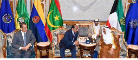 موريتانيا والكويت توقعان 4 اتفاقات في عدة مجالات