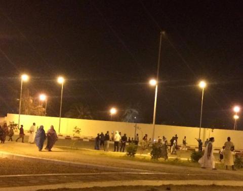 إذاعة موريتانيا تعد تقريرا عن الرياضة في شهر رمضان المبارك